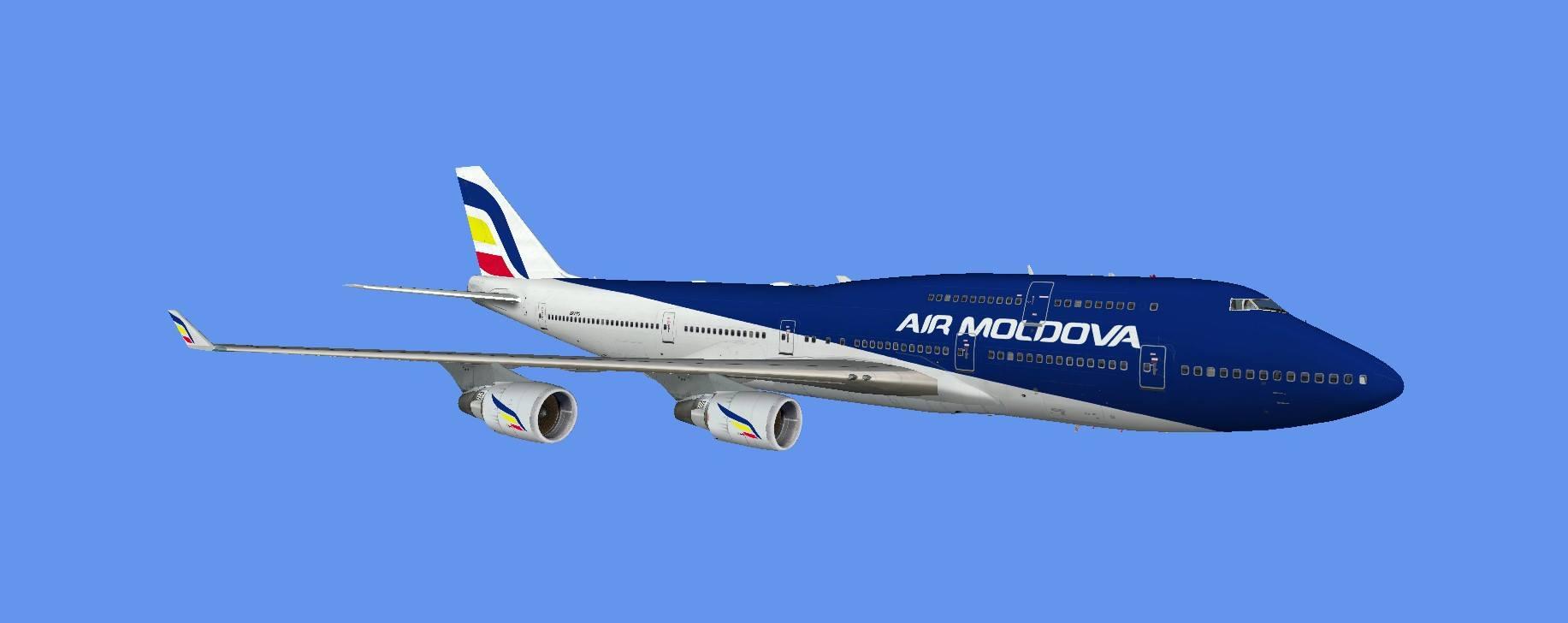 Plane liveries – Moldova VACC